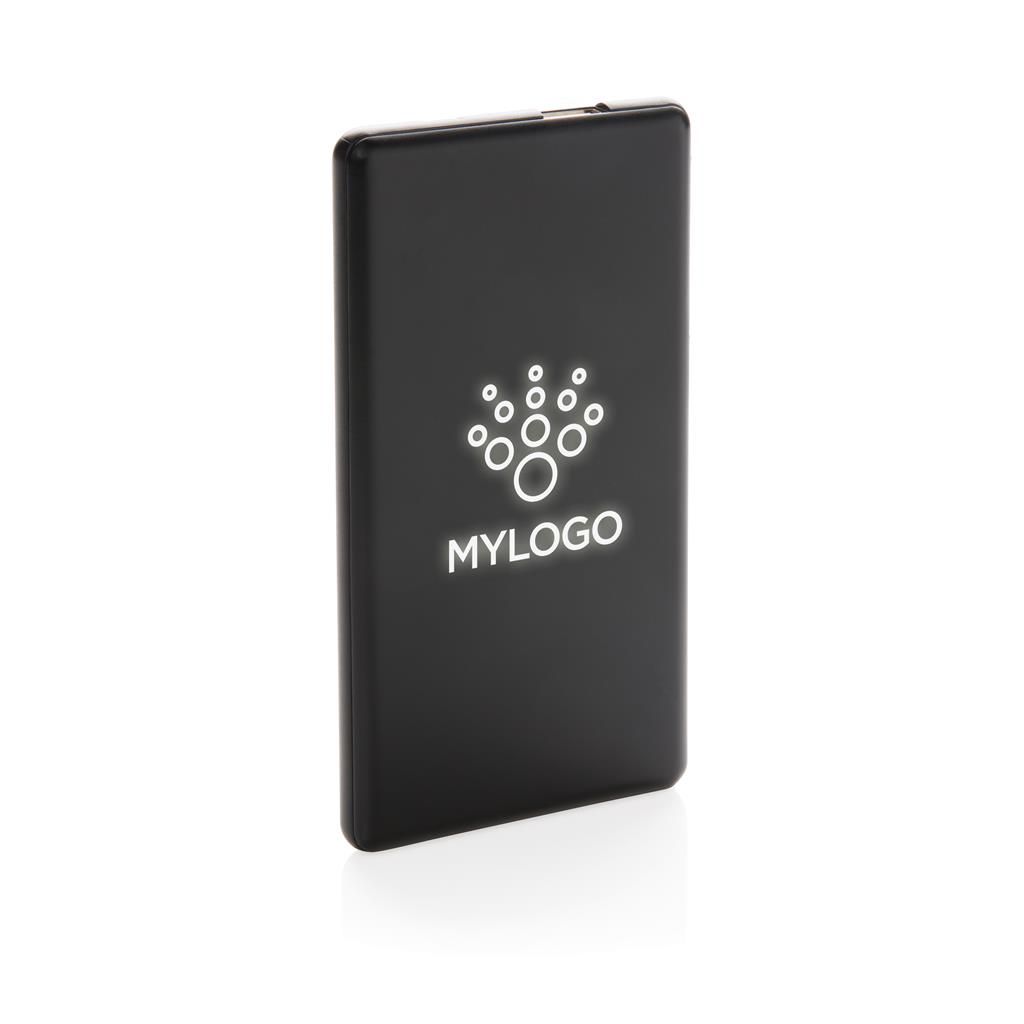 Light up your logo powerbank