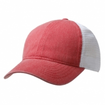 Bedrukte washed cotton cap