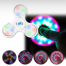 bedrukte led fidget spinner