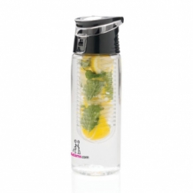 bedrukte waterfles met infuser