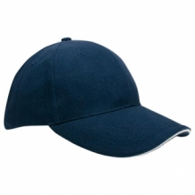 Bedrukte heavy brushed cap