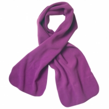Bedrukte luxury fleece scarf