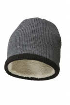 Bedrukte luxury Beanie with teddy lining