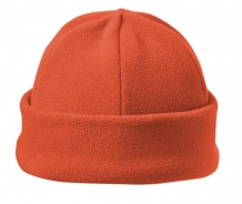 Bedrukte luxury fleece hat