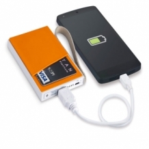 portable charger bedrukken