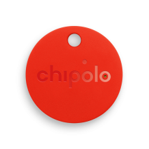 Bedrukte Chipolo Bluetooth tracker